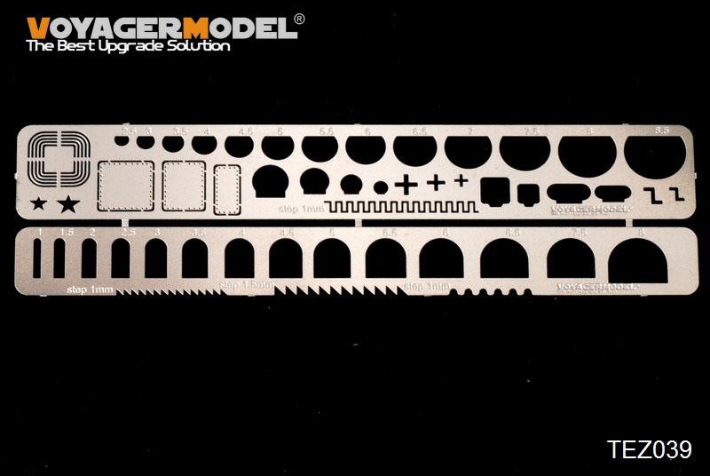 画像1: VOYAGER MODEL(ボイジャーモデル)スクレイビングテンプレート10