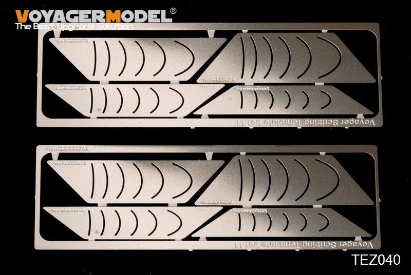 画像1: VOYAGER MODEL(ボイジャーモデル)スクレイビングテンプレート11