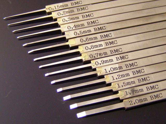 画像: BMCタガネ 幅1.5mm