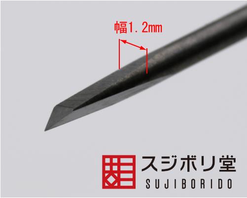 画像: BMC彫刻刀 三角 幅1.2mm